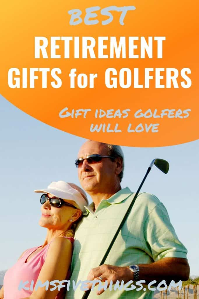 retirement gift ideas for a golfer