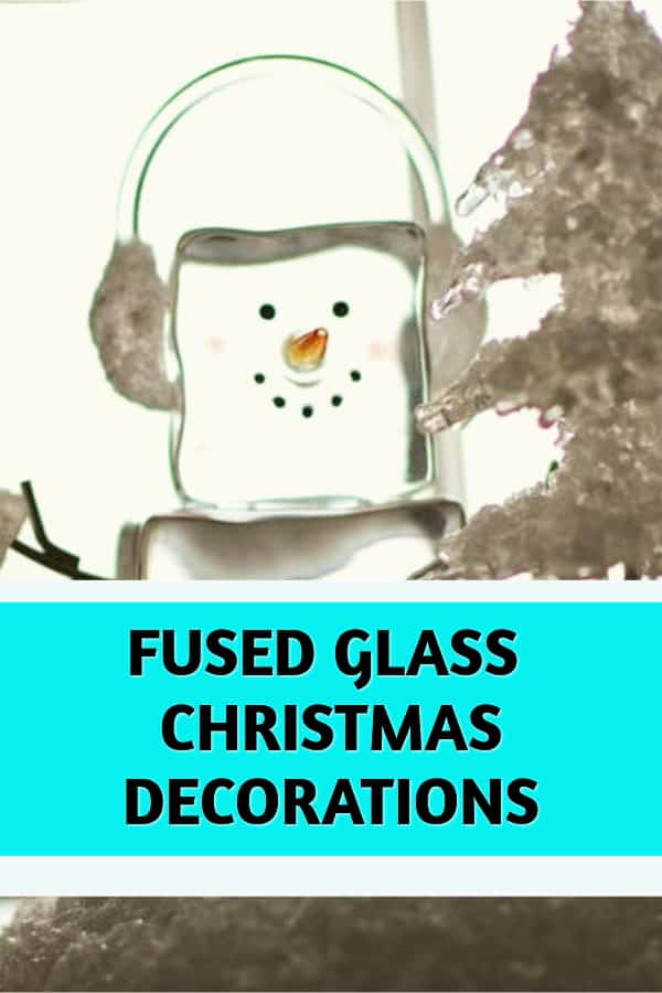 fused glass christmas decorations for the home