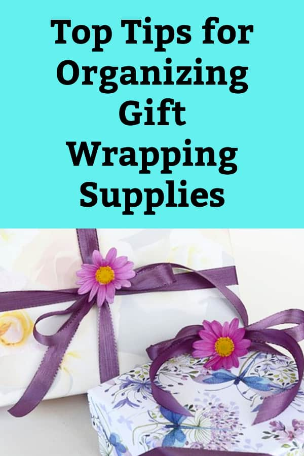Organize Gift Wrapping Supplies Wrapping Paper Organizing