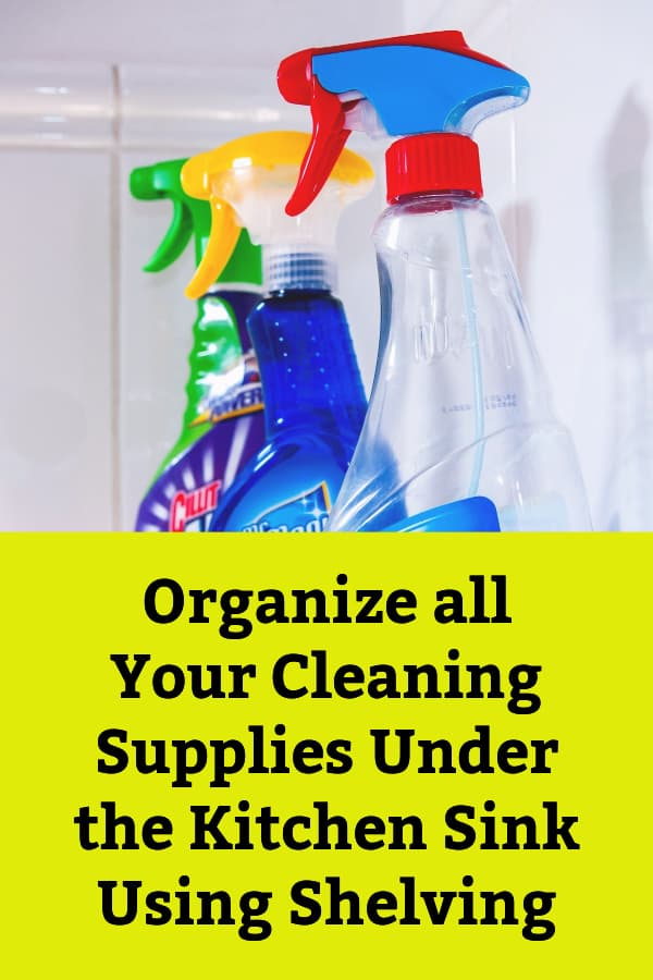 Under Sink Storage Units and Shelving