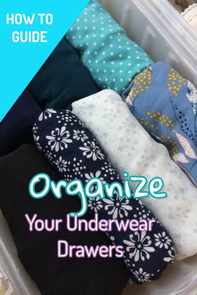 organizing and folding your clothes in a drawer sock organization ideas