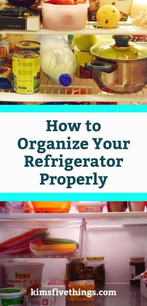 how to organize your refrigerator properly