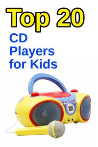 top 20 cd players for kids