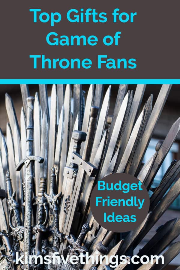 top gifts for game of thrones fans