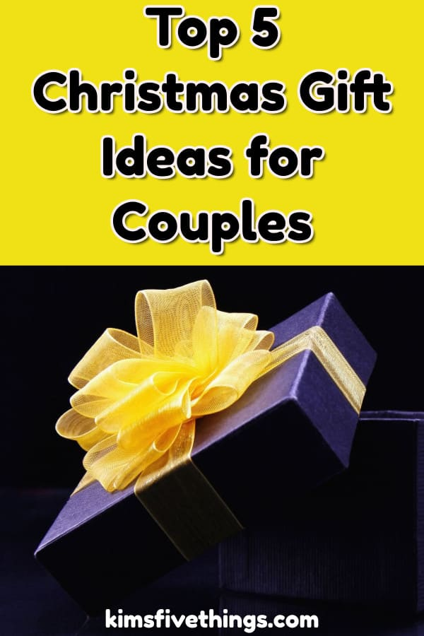 Top 5 Christmas Gift Ideas for Couples