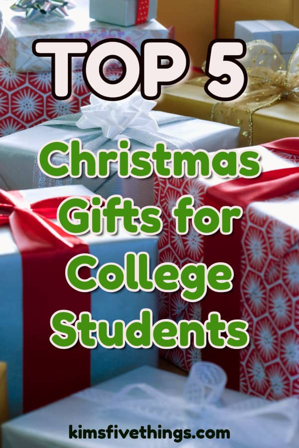 top 5 small fun gifts for college students