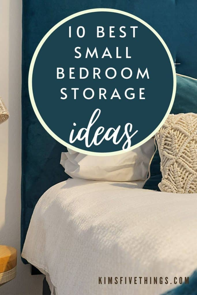 best small bedroom storage and organizing ideas