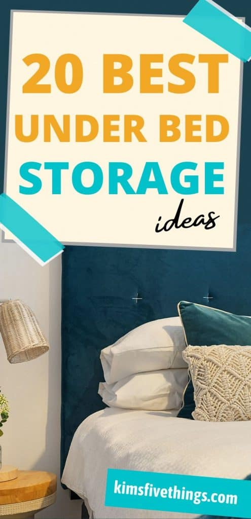 under bed storage ideas and solutions
